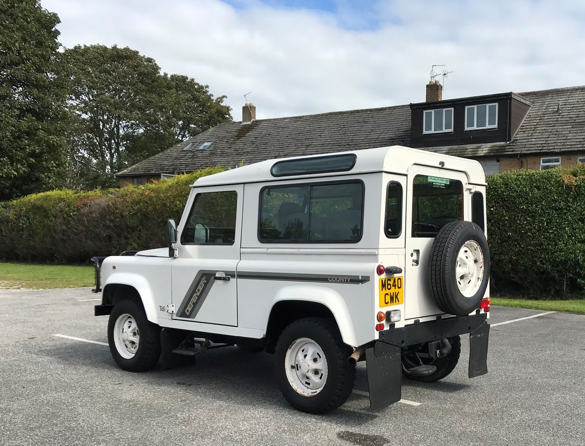 1994 Defender 90 CSW 300 Tdi 'TIME WARP' 1 OWNER 36,000 MILES! For Sale (picture 2 of 6)