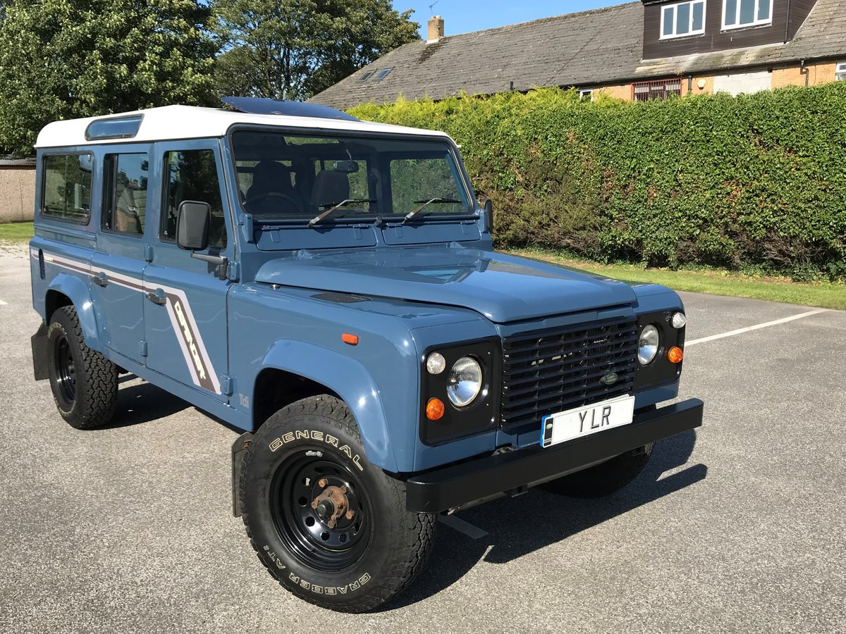 1992 DEFENDER 110 COUNTY SW Tdi *USA EXPORTABLE* STUNNING EXAMPL  For Sale (picture 1 of 6)