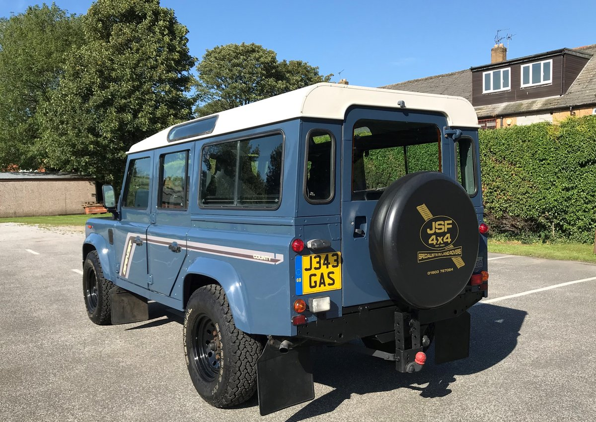 1992 DEFENDER 110 COUNTY SW Tdi *USA EXPORTABLE* STUNNING EXAMPL  For Sale (picture 2 of 6)