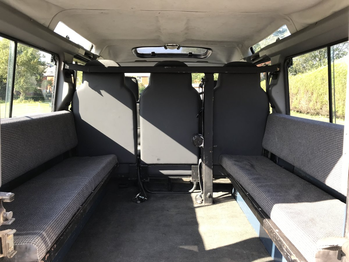 1992 DEFENDER 110 COUNTY SW Tdi *USA EXPORTABLE* STUNNING EXAMPL  For Sale (picture 5 of 6)