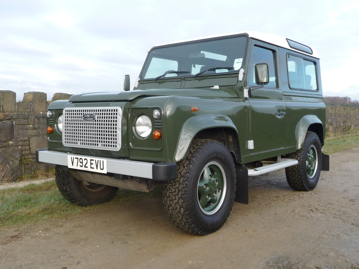 2000 ORIGINAL 1999 LAND ROVER 90 DEFENDER HERITAGE – 34,300 MILES For Sale (picture 1 of 10)