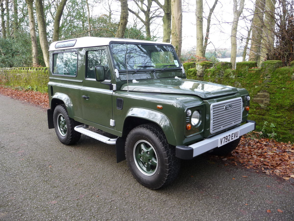 2000 ORIGINAL 1999 LAND ROVER 90 DEFENDER HERITAGE – 34,300 MILES For Sale (picture 2 of 10)