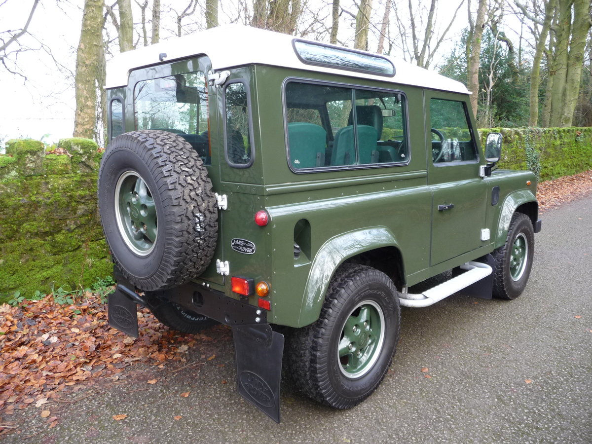 2000 ORIGINAL 1999 LAND ROVER 90 DEFENDER HERITAGE – 34,300 MILES For Sale (picture 3 of 10)