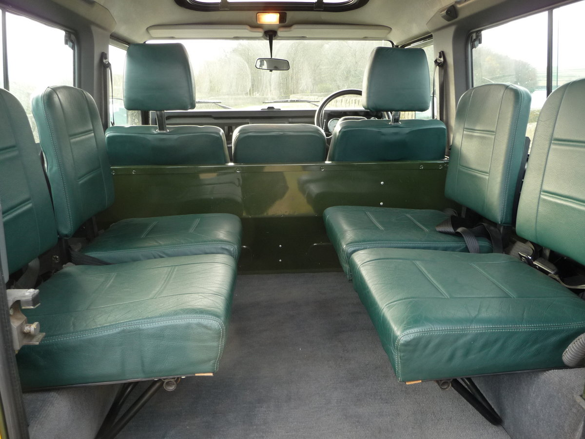 2000 ORIGINAL 1999 LAND ROVER 90 DEFENDER HERITAGE – 34,300 MILES For Sale (picture 6 of 10)
