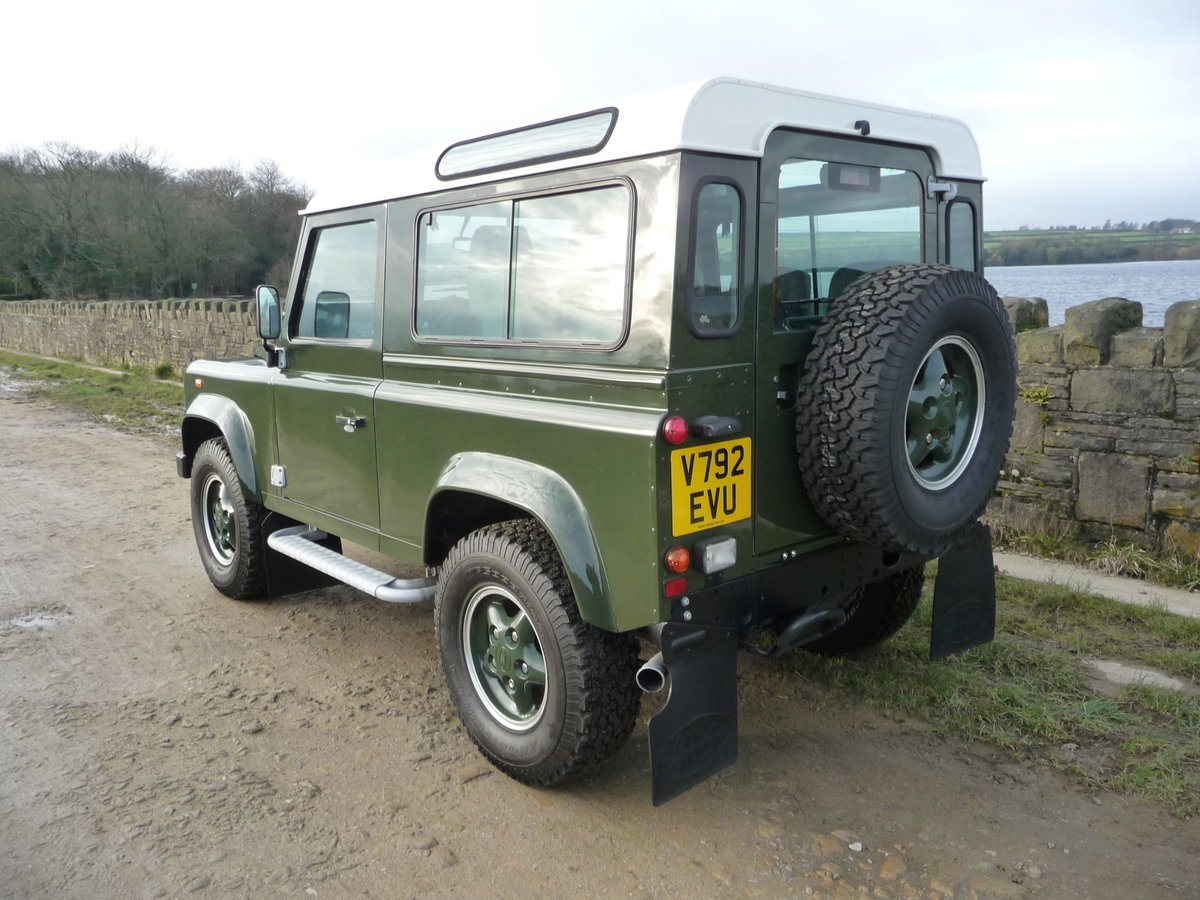 2000 ORIGINAL 1999 LAND ROVER 90 DEFENDER HERITAGE – 34,300 MILES For Sale (picture 7 of 10)