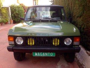 1981 LHD Range Rover Classic 2 Door 3.5 V8 in Spain