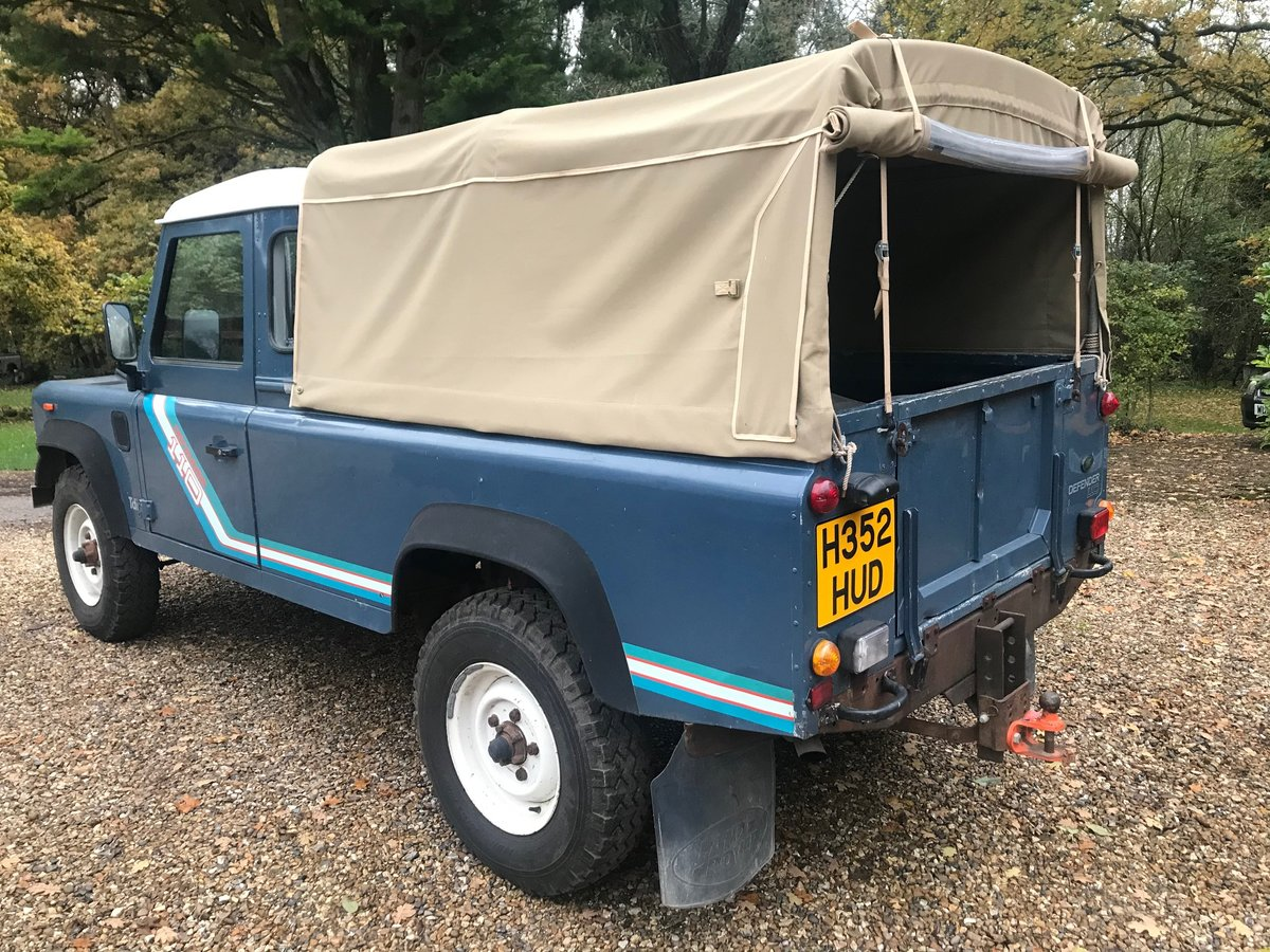Land Rover Defender 1991 110 Truck cab 2.5 200 Tdi 41k miles For Sale (picture 2 of 6)