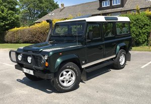 Defender 110 County SW 300 Tdi **FACTORY LEFT HAND DRIVE**