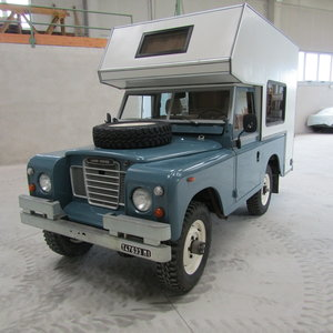 1973 Land Rover camper conversion
