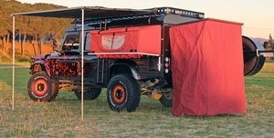 1993 Land Rover Defender 130 with 3500 cc, 136 Hp