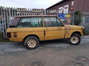 2 door range rover 1979 for restoration