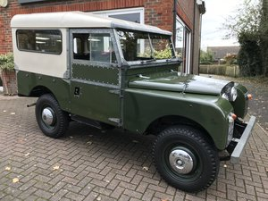 "1957 LAND ROVER SERIES 1 88"" (Ex Sir Henry Price)"