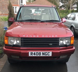 1997 Range Rover P38 4.6 HSE Limited Edition For Sale