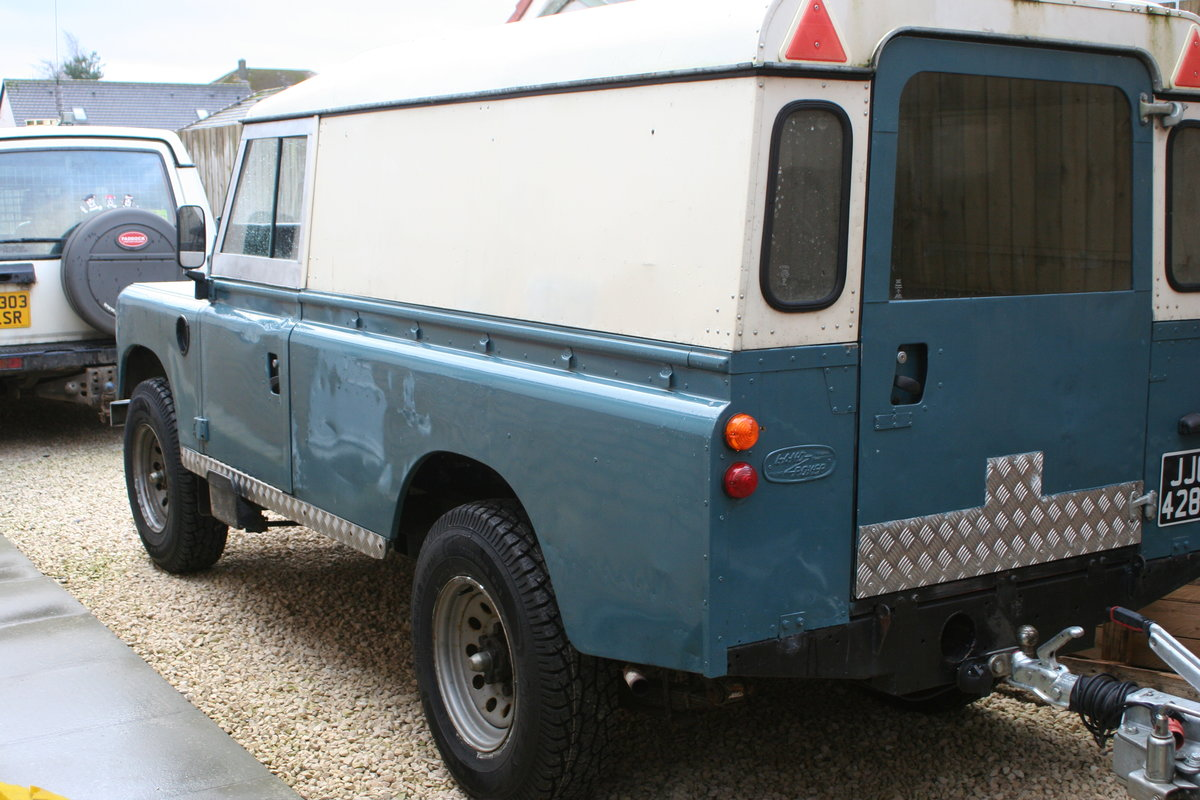 1975 Land Rover Series 3 109 Tax Free / Mot Exempt / For Sale (picture 6 of 6)