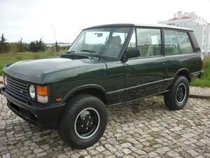 1991 Range Rover V8 3.9 EFI 3p For Sale