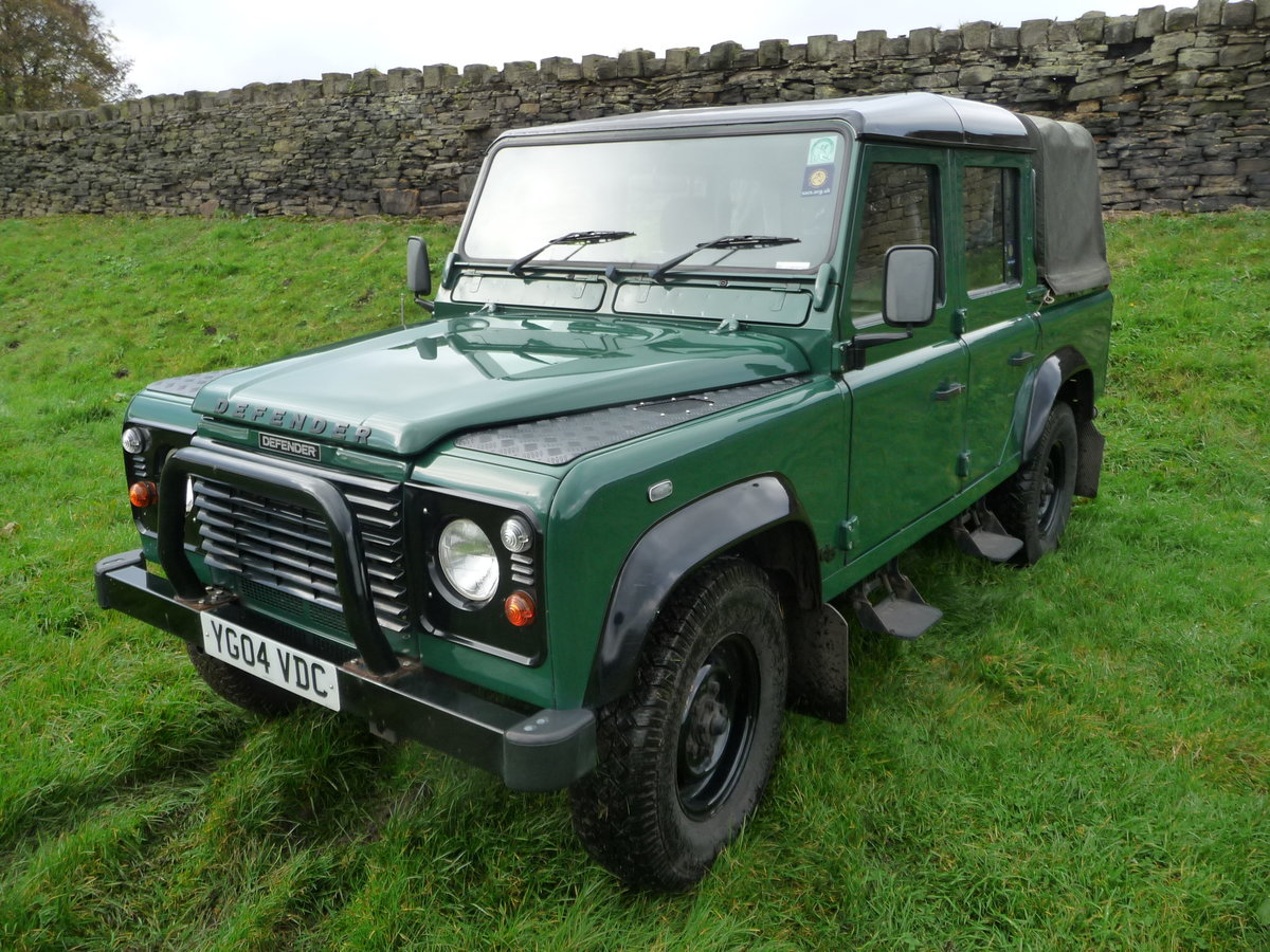 2004 Defender 110 DOUBLE CAB – LOVELY CONDITION For Sale (picture 2 of 10)