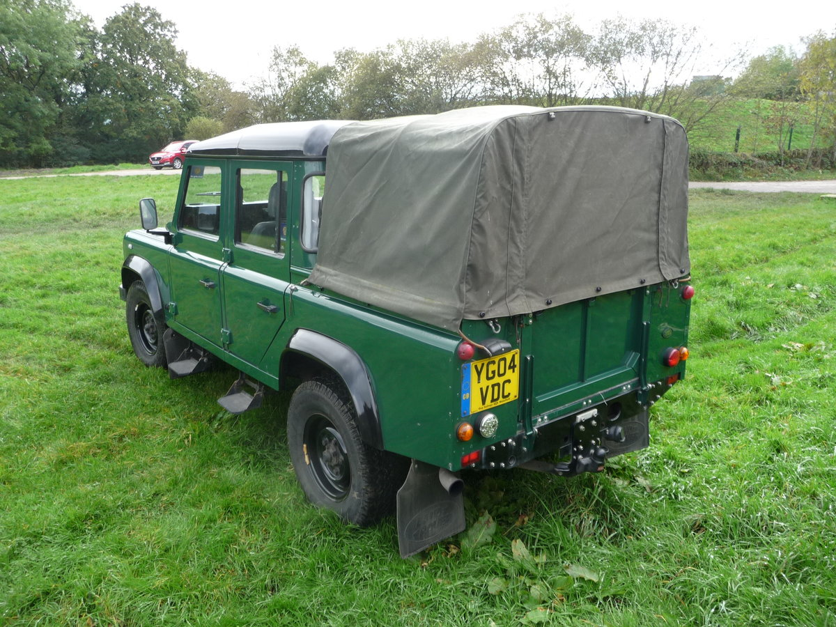 2004 Defender 110 DOUBLE CAB – LOVELY CONDITION For Sale (picture 3 of 10)