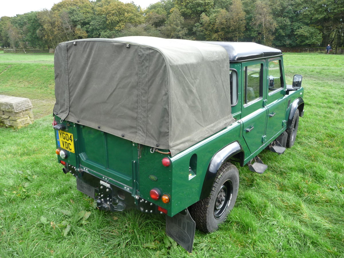 2004 Defender 110 DOUBLE CAB – LOVELY CONDITION For Sale (picture 4 of 10)