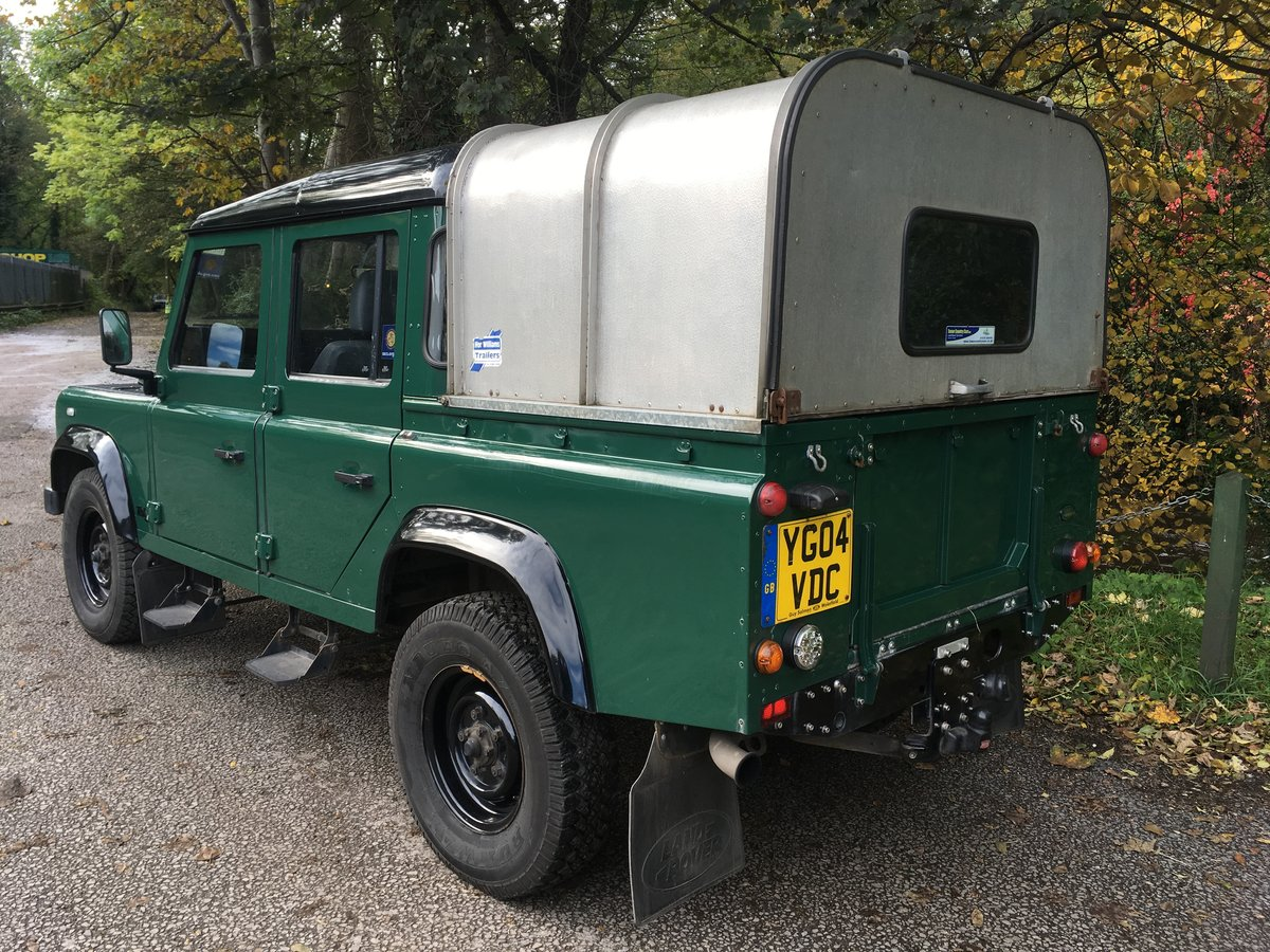 2004 Defender 110 DOUBLE CAB – LOVELY CONDITION For Sale (picture 5 of 10)