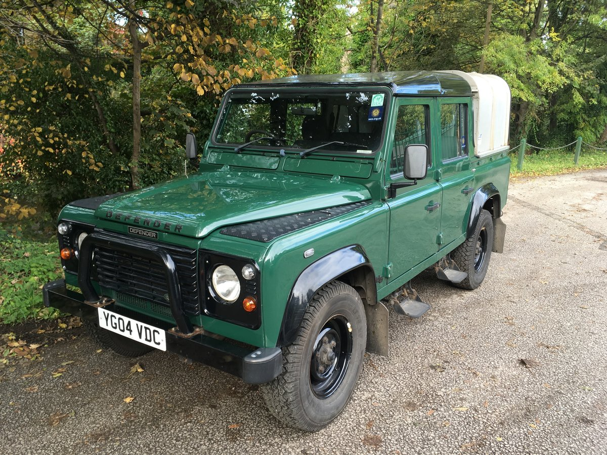 2004 Defender 110 DOUBLE CAB – LOVELY CONDITION For Sale (picture 10 of 10)