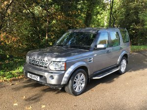 2011 LAND ROVER DISCOVERY 4 – XS AUTOMATIC 69,000 MILES FSH