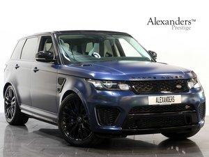 2017 17 67 RANGE ROVER SPORT SVR 5.0 V8 SUPERCHARGED AUTO For Sale