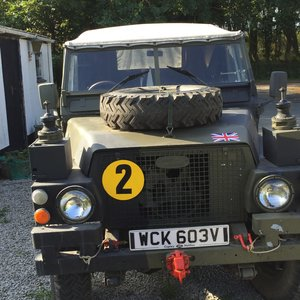 1974 Landrover series 3 Lightweight airportable For Sale