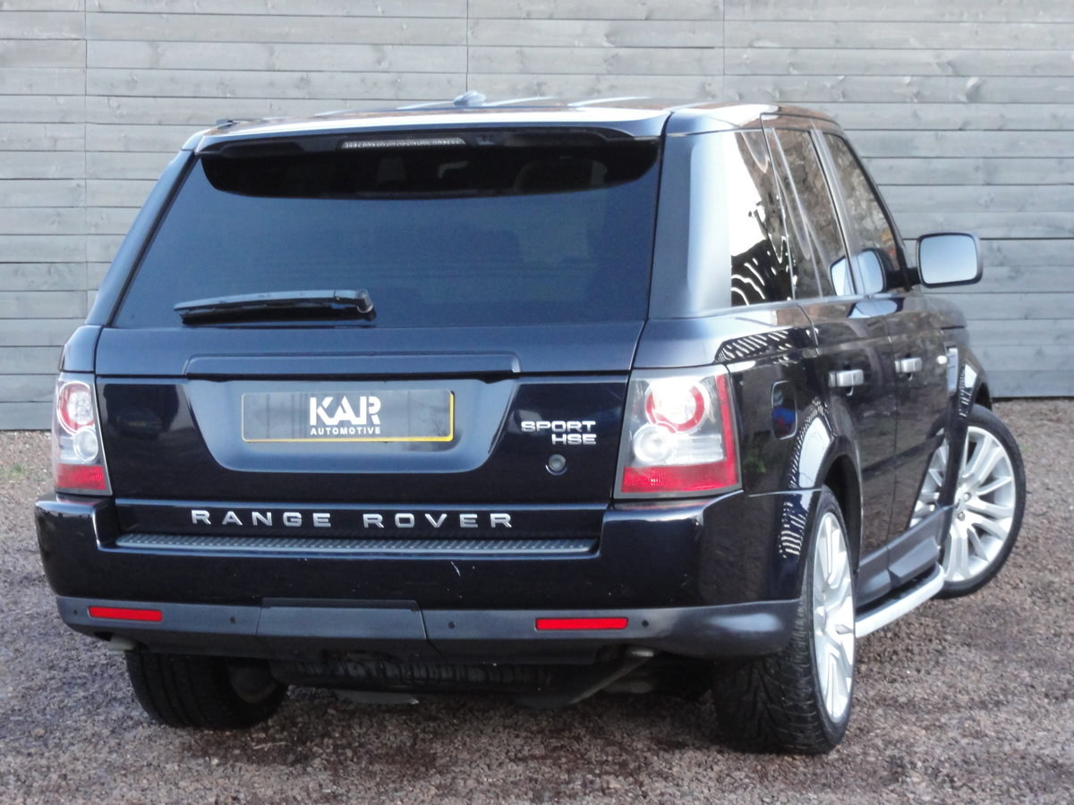 2009 Land Rover Range Rover Sport 3.0 TD V6 HSE 5dr, 1 Year MOT For Sale (picture 3 of 6)