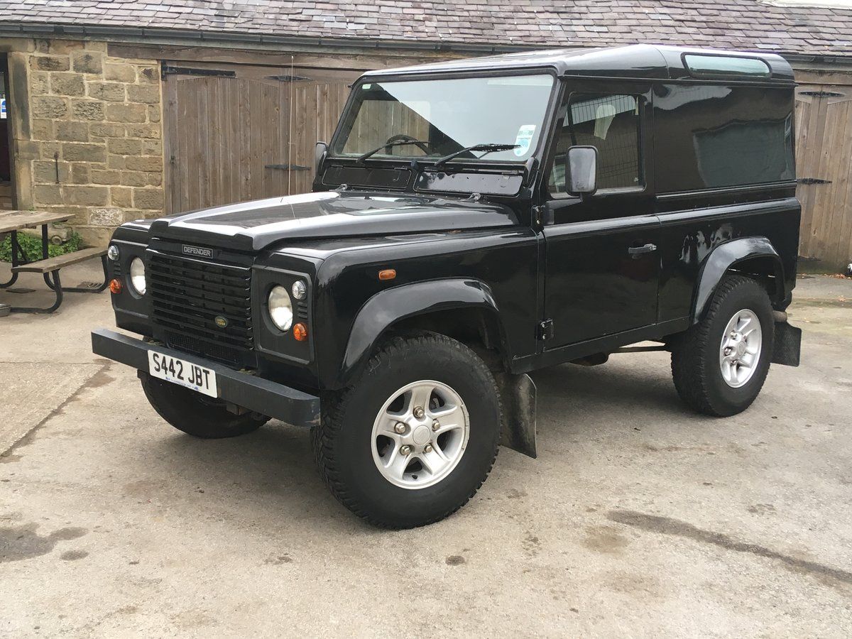 1999 LAND ROVER DEFENDER 90 AUTOMATIC For Sale (picture 1 of 6)