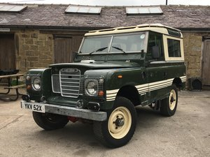1982 LAND ROVER SERIES 3 COUNTY 88 For Sale