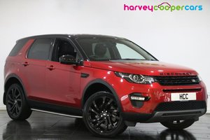 2017 Land Rover Discovery Sport 2.0 TD4 180 HSE Black 5dr Auto
