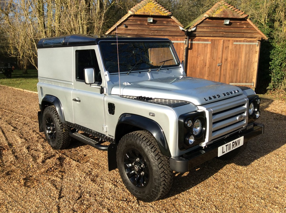 2011 Land Rover Defender 90 X - Tech Twisted DEPOSIT TAKEN SOLD (picture 1 of 6)