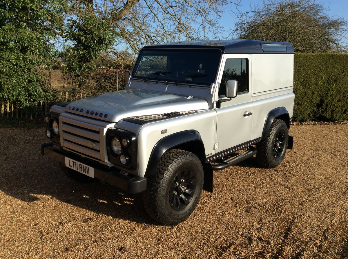 2011 Land Rover Defender 90 X - Tech Twisted DEPOSIT TAKEN SOLD (picture 3 of 6)