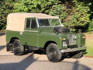 1959 Land Rover Series II SWB