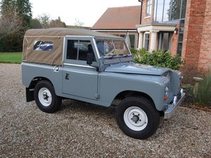 1975 New Restored S3 Petrol. Galv chassis. Overdrive For Sale