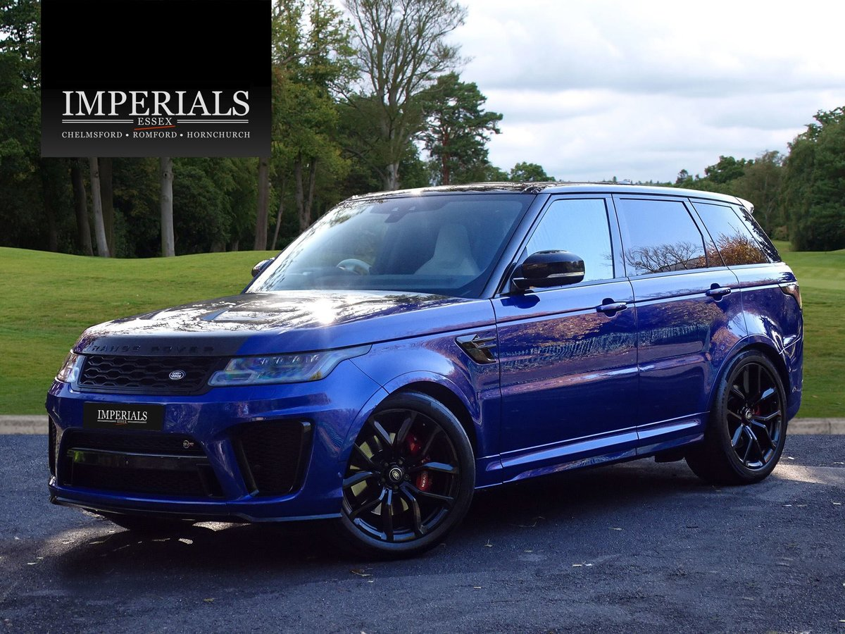 2018 Land Rover  RANGE ROVER SPORT  SVR 5.0 V8 SUPERCHARGED 8 SPE For Sale (picture 1 of 24)