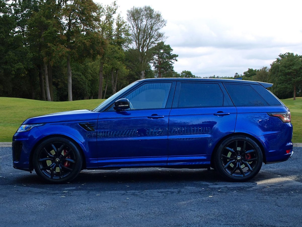 2018 Land Rover  RANGE ROVER SPORT  SVR 5.0 V8 SUPERCHARGED 8 SPE For Sale (picture 2 of 24)