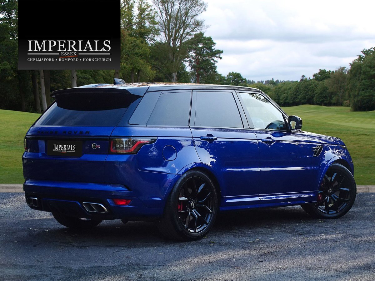 2018 Land Rover  RANGE ROVER SPORT  SVR 5.0 V8 SUPERCHARGED 8 SPE For Sale (picture 4 of 24)