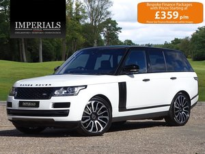 Land Rover  RANGE ROVER  4.4 SDV8 VOGUE SE 2017 MODEL EU6 8