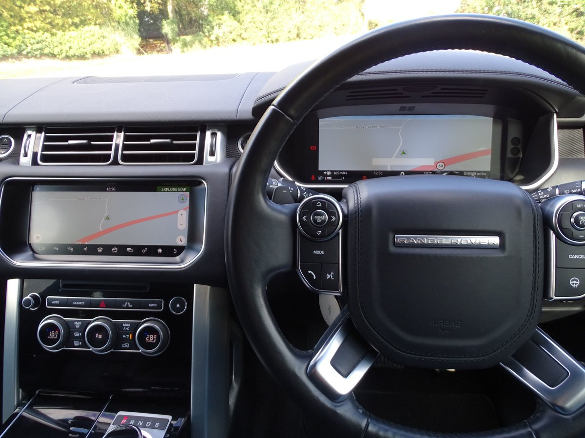 2016 Land Rover  RANGE ROVER  4.4 SDV8 VOGUE SE 2017 MODEL EU6 8  For Sale (picture 10 of 24)