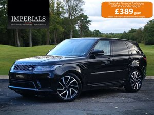 2018 Land Rover  RANGE ROVER SPORT  3.0 SDV6 HSE 2019 MODEL EU6 8 For Sale
