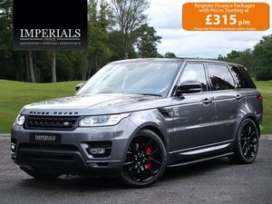2017 Land Rover  RANGE ROVER SPORT  3.0 SDV6 HSE EU6 8 SPEED AUTO For Sale