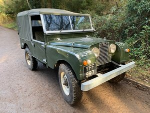 1957 Series 1 V8 SWB Soft Top For Sale