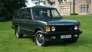 1993 Range rover vogue lse long wheel base For Sale