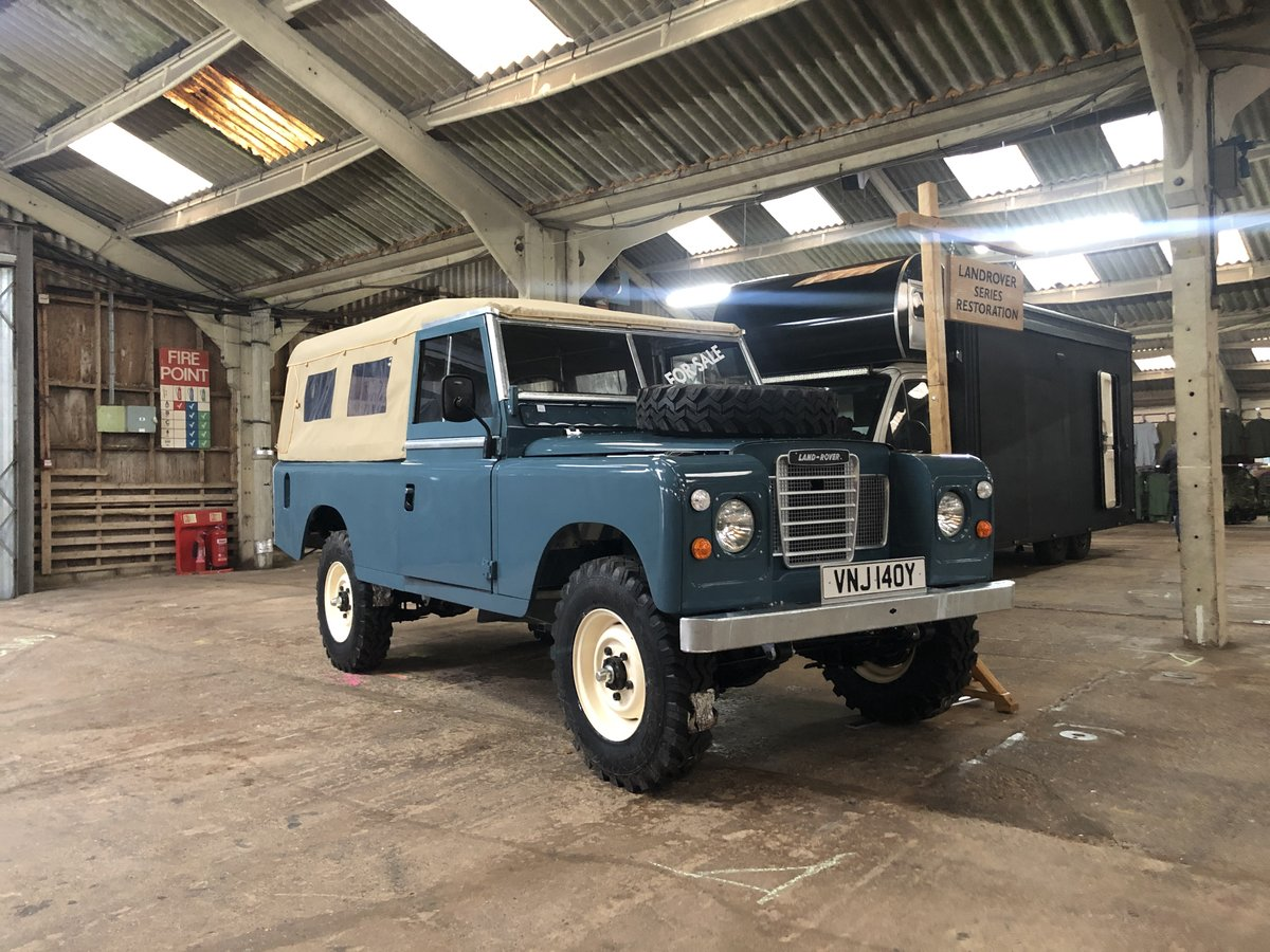 1982 Land Rover Series 3 109 softop restored For Sale (picture 1 of 4)