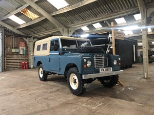 1982 Land Rover Series 3 109 softop restored