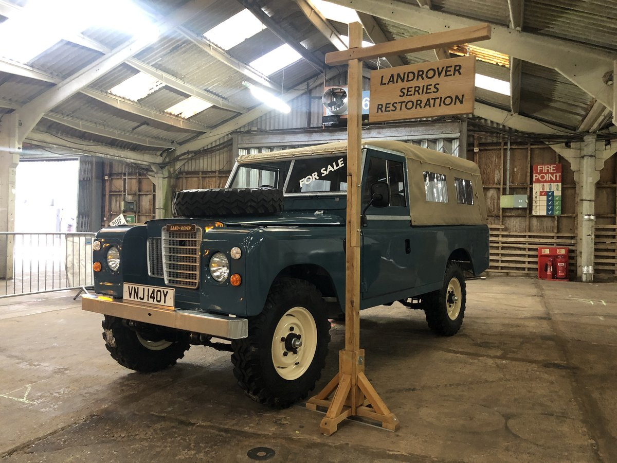 1982 Land Rover Series 3 109 softop restored For Sale (picture 3 of 4)