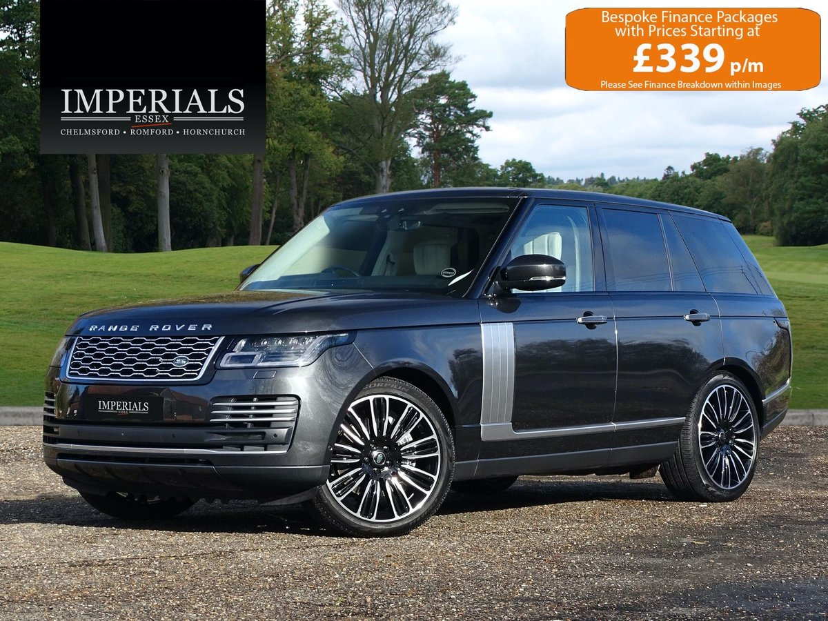 2018 Land Rover  RANGE ROVER  4.4 SDV8 AUTOBIOGRAPHY 2019 MODEL A For Sale (picture 1 of 24)
