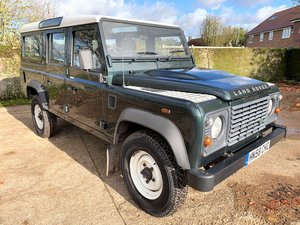 2008/58 Defender 110 TDCi station wagon 7 seater 66000m For Sale