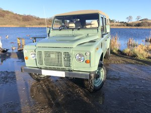 1987 110 CSW Soft top 12 seater Galvanised chassis/bulkhead etc